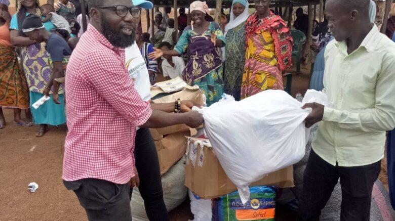 SEDARVP-Ghana and partners donate to Nawuni Flood Victims