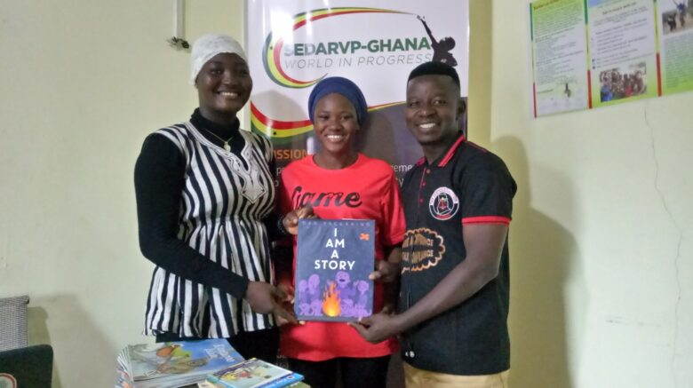 SEDARVP Ghana supports Ghana Youth Guide with Educational materials